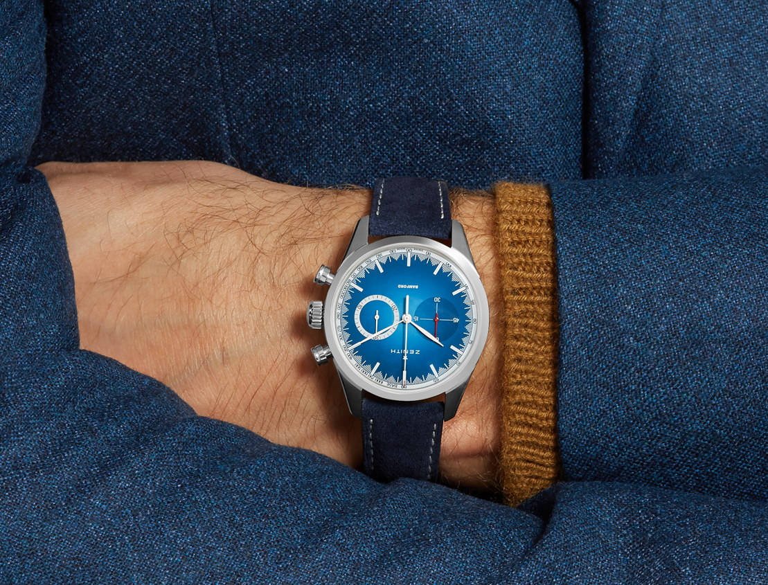 Zenith to create watch in partnership with Mr Porter and BWD