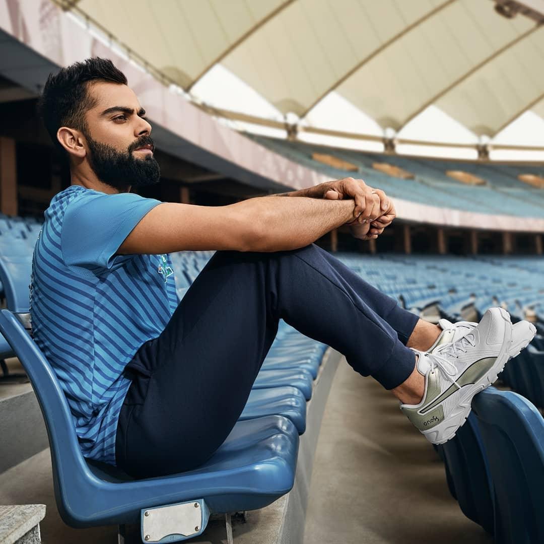 Virat Kohli flaunts his limited-edition